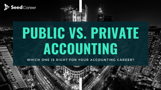 Practive vs.Private Accounting